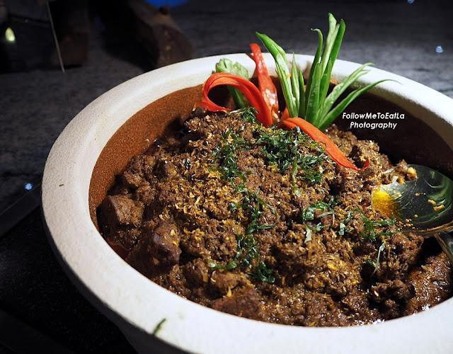 Rendang Daging TOK Braised Beef In Spice Coconut Milk