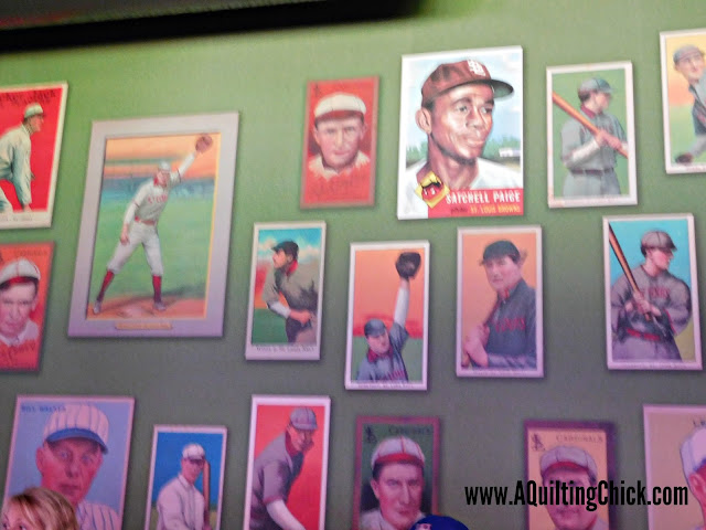A Quilting Chick - Baseball Card Wallpaper
