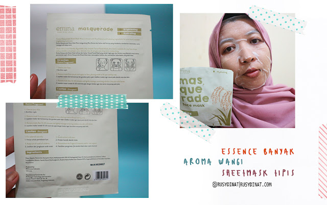 Review Sheet Mask Drugstore