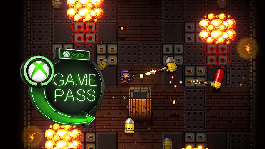 xbox game pass 2019 enter the gungeon pc xb1