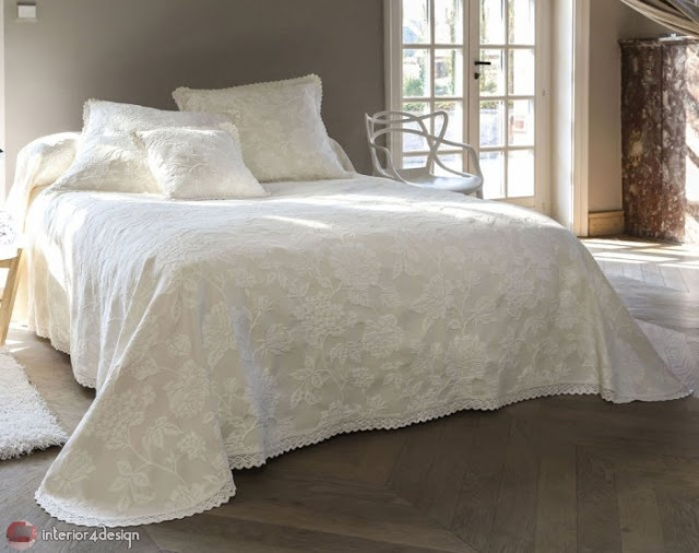 Modern Bed Embroidered Linens 10