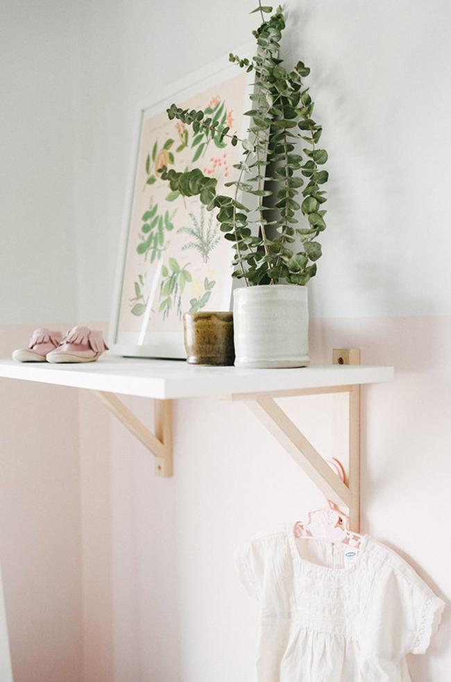 Te animas a decorar una baby room con eucalipto mira que