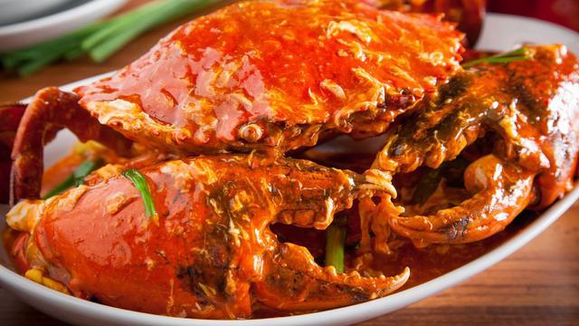 Kepiting Saus Padang