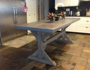 You can even use zinc for you countertop material. The ...