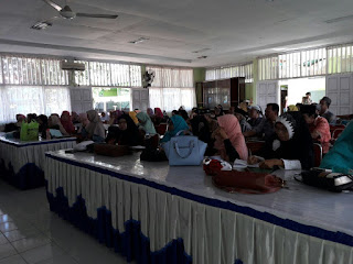 Edukasi Kesehatan kepada Jamaah Haji Kabupaten Agam bersama GEMAHATI & SUSU HAJI SEHAT, Sumatera Barat