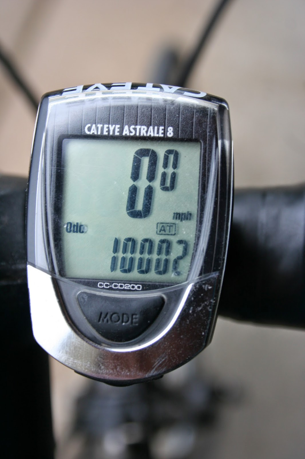 Ten thousand miles on a bicycle