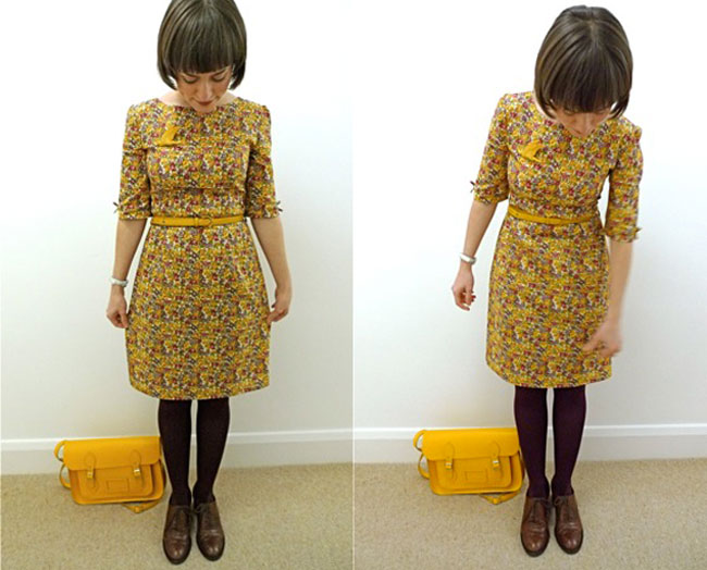 Tilly's first dress - Tilly and the Buttons