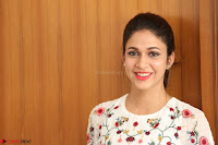 Lavanya Tripathi in Summer Style Spicy Short White Dress at her Interview  Exclusive 217.JPG