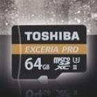 Toshiba Exceria Pro με UHS-II