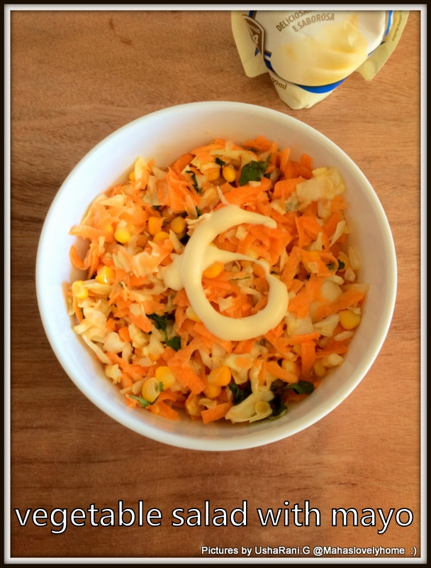 Mahaslovelyhome Vegtable Mayo Salad Quick And Easy Mixed Vegetable Mayonnaise Salad For Lunch Or Dinner Mayo Salad For Weight Loss