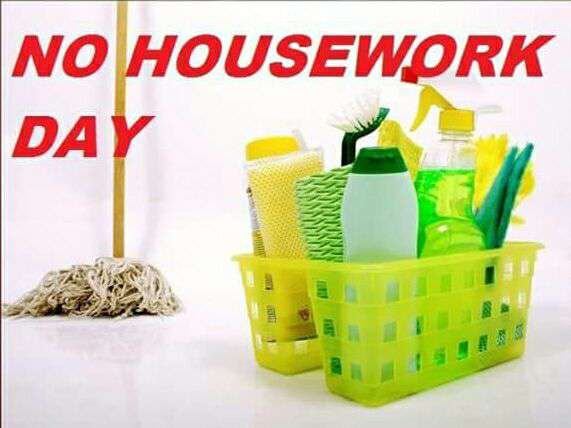 National No Housework Day Wishes Pics