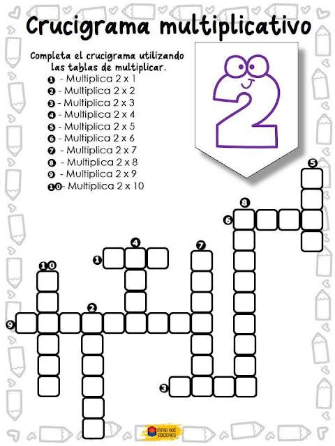crucigrama-aprender-tablas-multiplicar