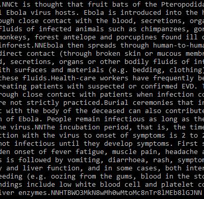 Hack The Box - Ebola Virus - Crypto Challenge - Write-up