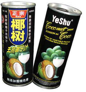minuman santan kelapa china tiongkok