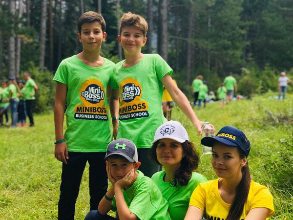 MINIBOSS BUSINESS SCHOOL (UNITED KINGDOM): MiniBoss Camp in