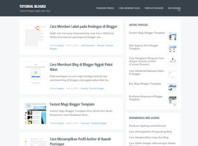 Blogku Template | Template Blogger Keren, Terbaik Dan Responsive