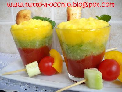 bicchierini tricolore