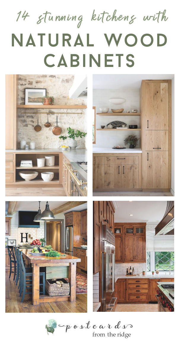 kitchens with wood cabinets