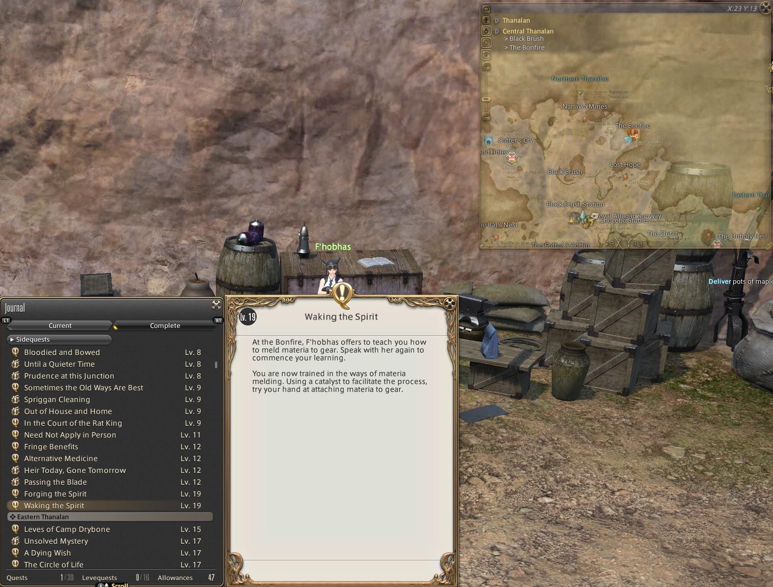 Vanh's Sandbox: Materia Melding