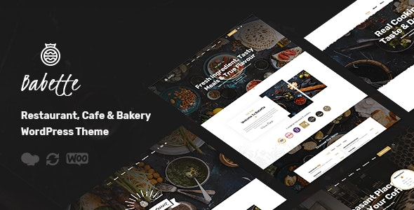 Premium Restaurant & Cafe WordPress Theme