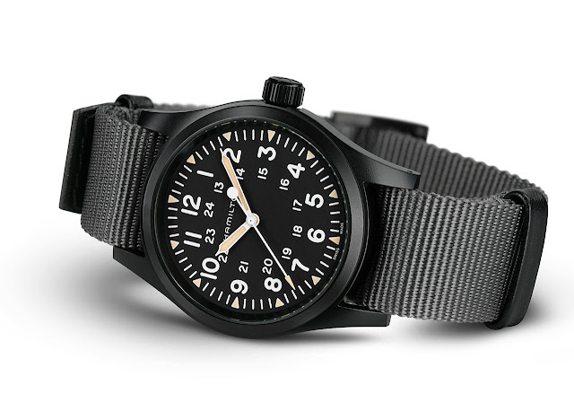 Hamilton Khaki Field Mechanical Black 38 mm H69409930