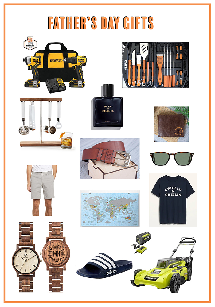 A collection of father's day gifts you can give to any dad