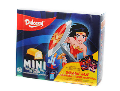 Dulcesol pastelitos mini superhéroes
