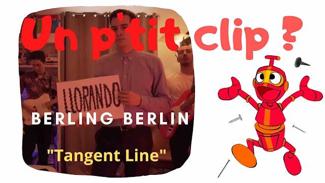 """Avec le clip de """"Tangent Line"""", Berling Berlin se confine pour mieux nous interpeller sur le temps qui passe et le sens de la vie."""