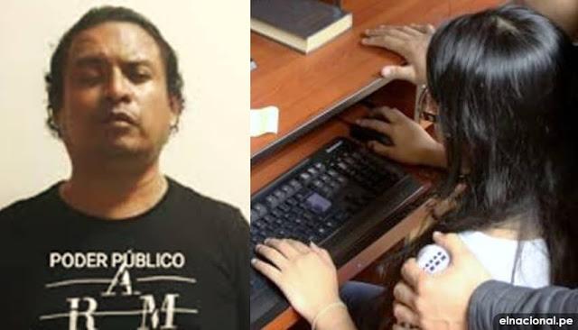 Marcos Durango Quiliche Salvador: 14 años de cárcel a profesor por tocamientos indebidos