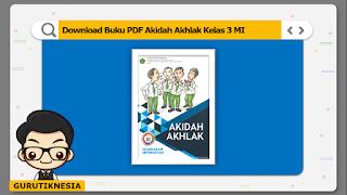download ebook pdf  buku digital akidah akhlak kelas 3 mi