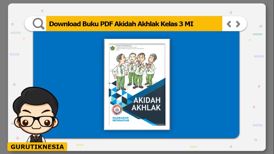 download buku pdf akidah akhlak kelas 3 mi