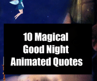 10 magical good night animated quotes