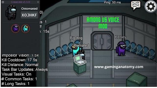 Among us voice mod