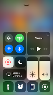 How to turn off/remove music app widget from control center in iPhone