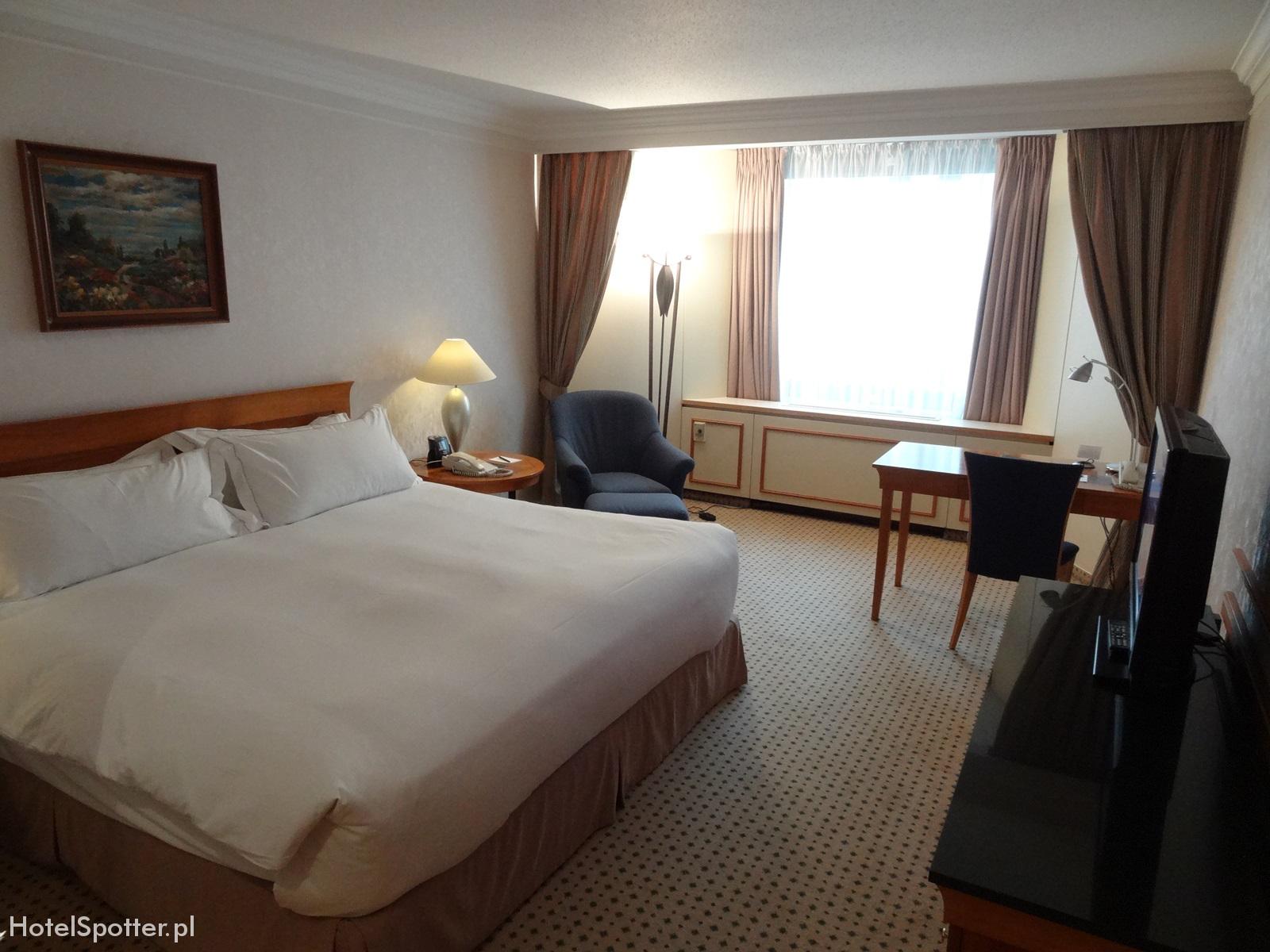Hilton Budapest hotel recenzja review room