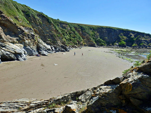Sand at Booley Beach