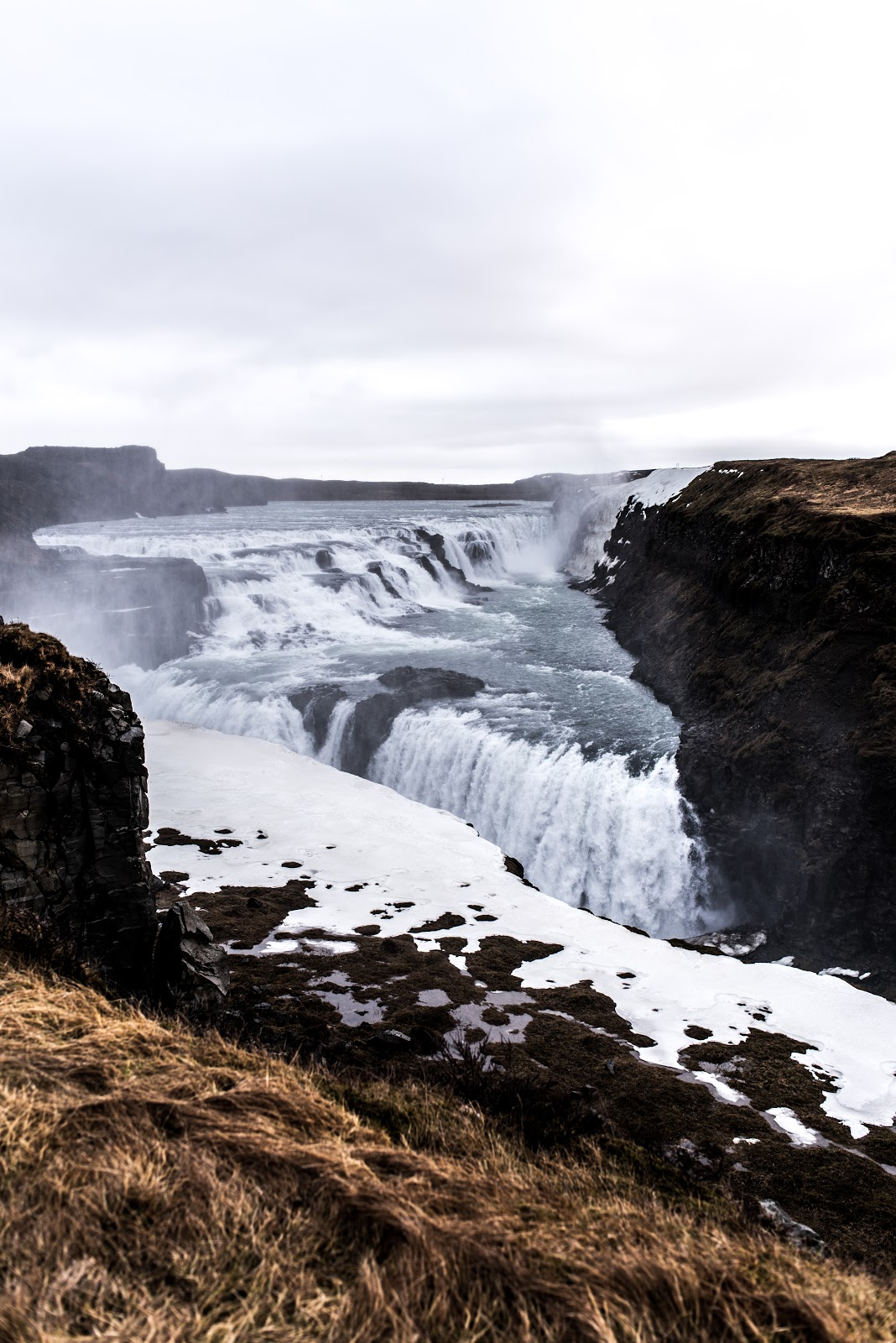 von vogue iceland travel Gullfoss waterfalls
