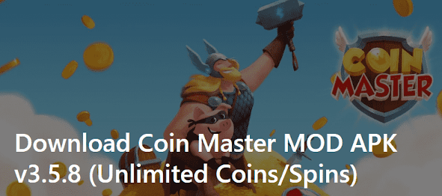 Download - Coin Master Mod APK with Unlimited Coins, Spins and Sheild