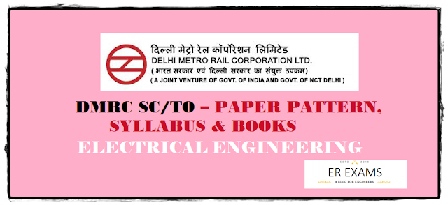 DMRC NMRC JE Electrical Paper Pattern