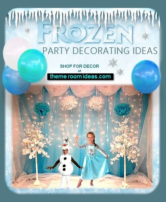 frozen costumes Frozen Elsa party decorations frozen decor frozen party ideas frozen birthday decorating