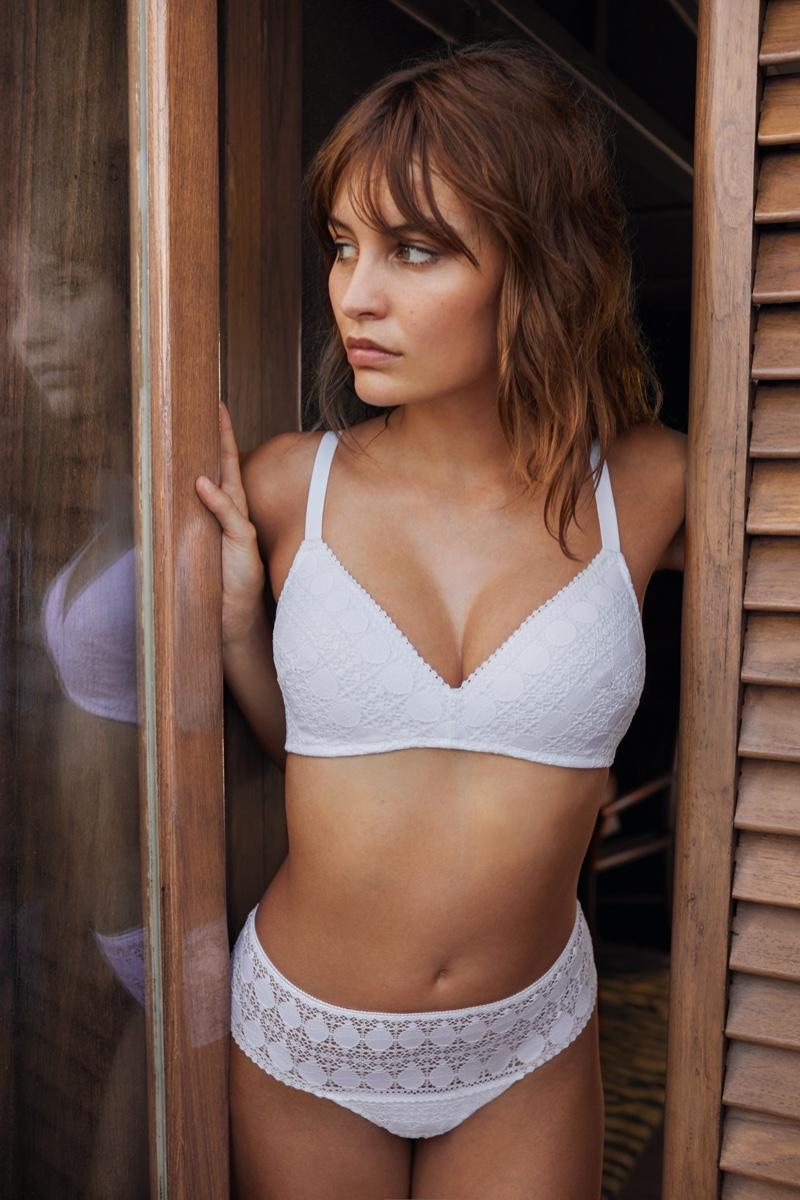 Lena Simonne stars in Etam lingerie spring-summer 2020 campaign