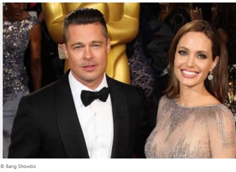 "Brad Pitt and Angelina Jolie ""no longer participate in family therapy""."