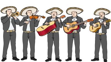 メキシコのマリアッチ mariachi