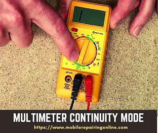 multimeter beeping in continuity mode