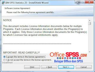 Cara Install IBM SPSS Statistic Versi 25