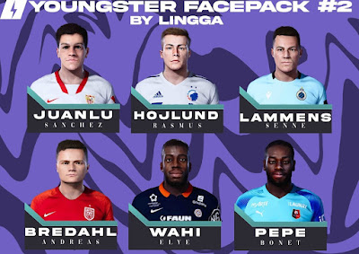 PES 2021 Youngster Facepack 2 by Lingga