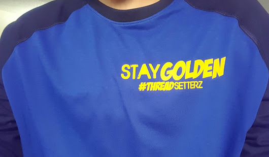 Now Available: Stay Golden Raglan Tees