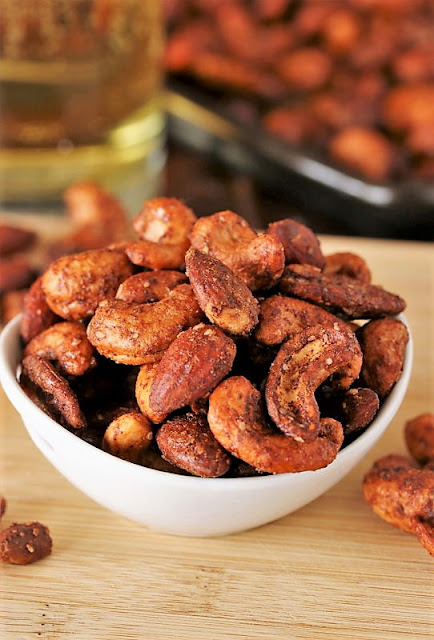 Barbecue Roasted Mixed Nuts Image