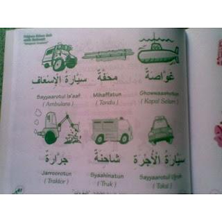 Buku Pelajaran Bahasa Arab Untuk Anak-anak Mengenal Kosa Kata HAS