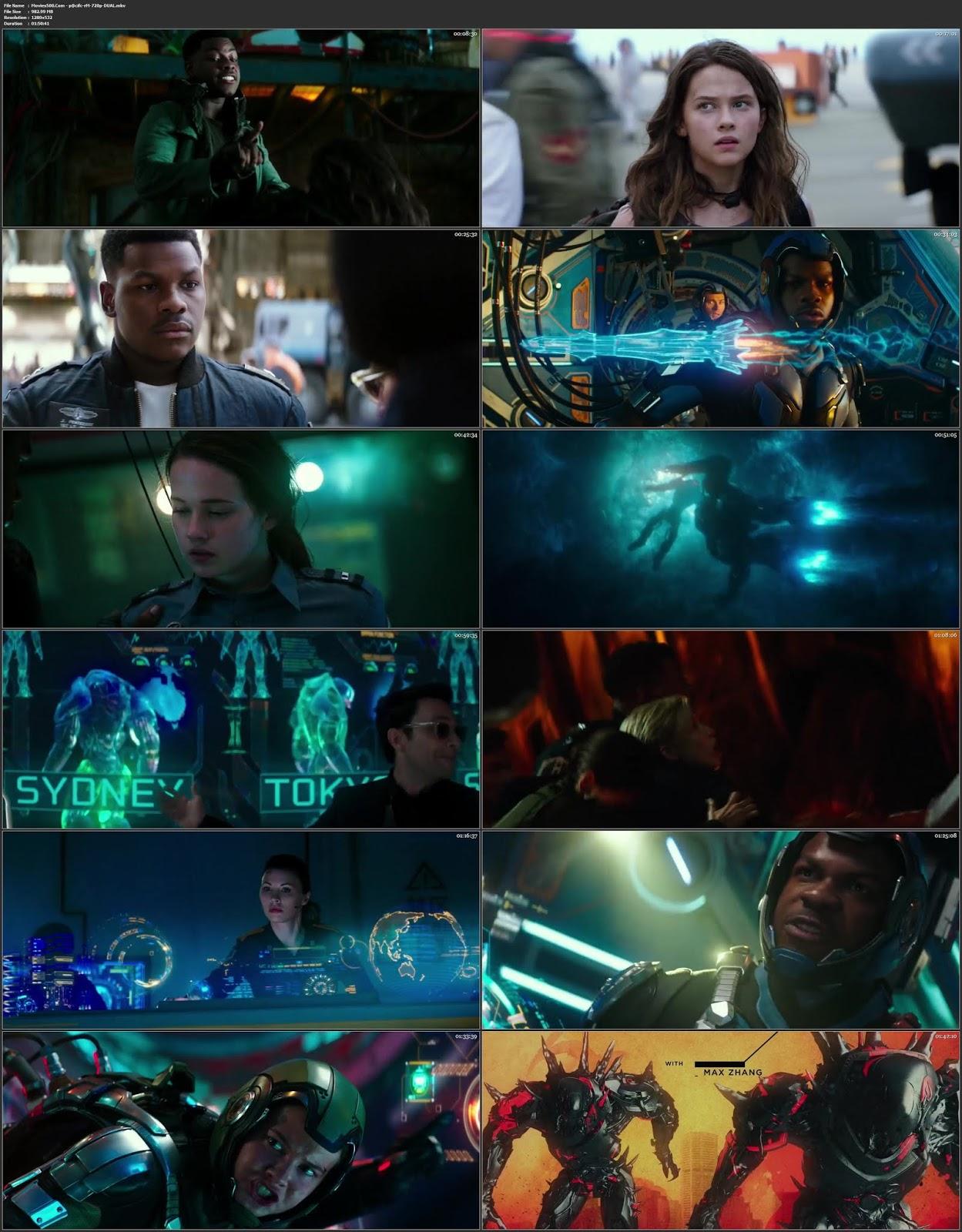 Pacific Rim 2 Uprising 2018 Dual Audio Hindi Full Movie HDRip 720p at movies500.site